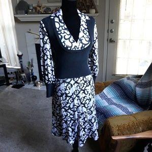 Bebe silk dress
